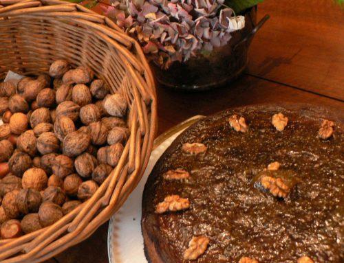Gâteau noix & figues